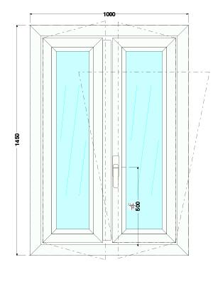 finestra grande pvc produzione fabbrica roma dimensioni prezzo