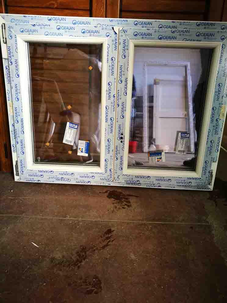 finestra in pvc 2 ante in offerta bianca