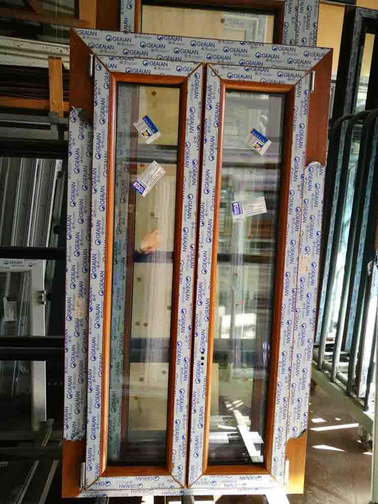 finestra in pvc 2 ante in offerta golden