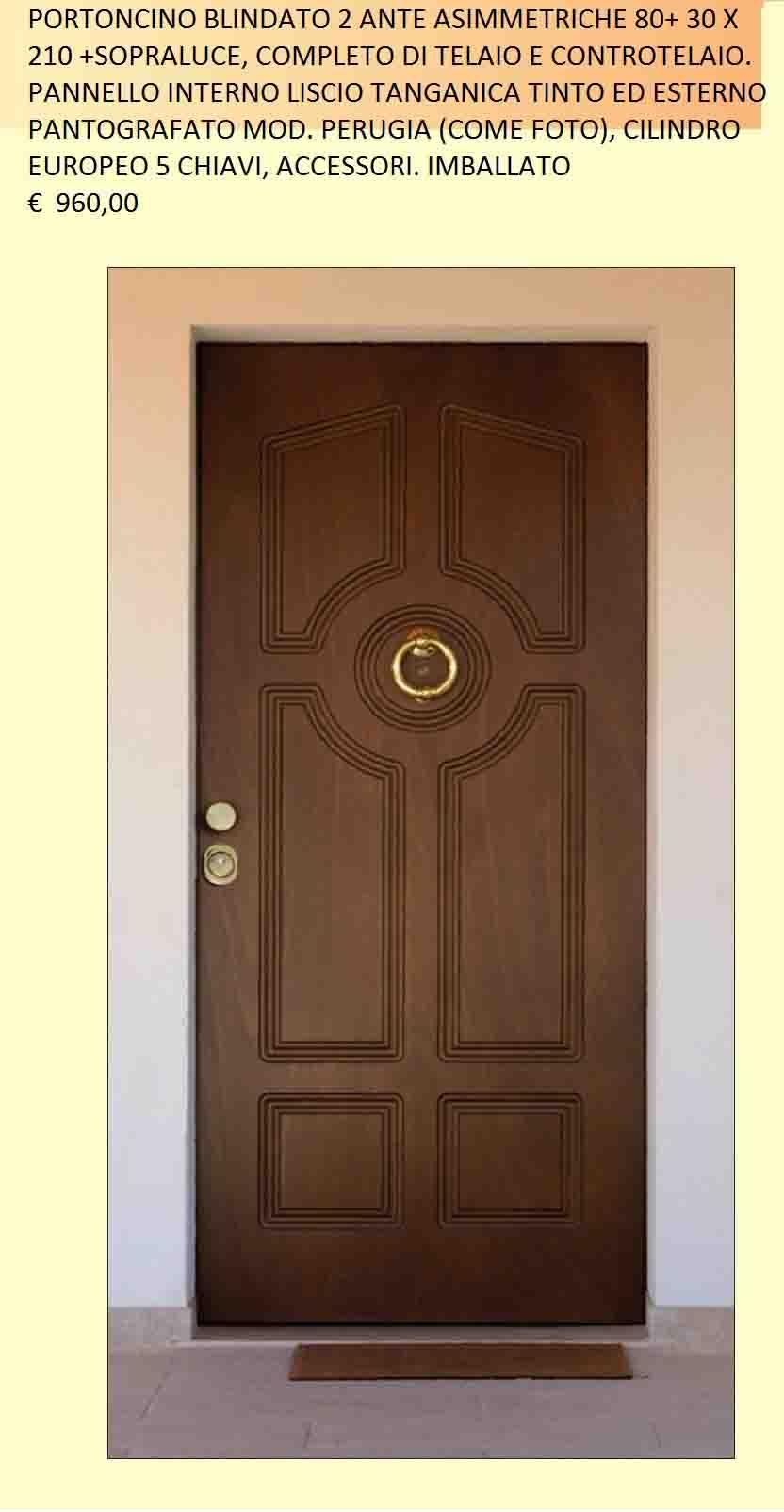 porta blindata 2 ante offerta