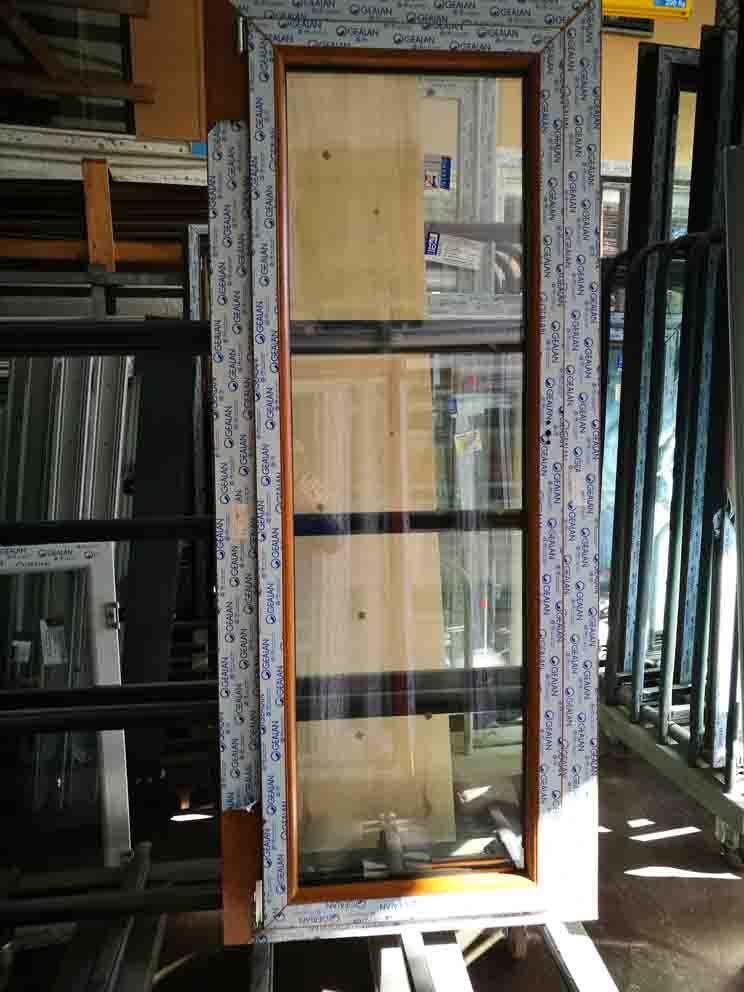 porta finestra in pvc 1 anta in offerta ciliegio