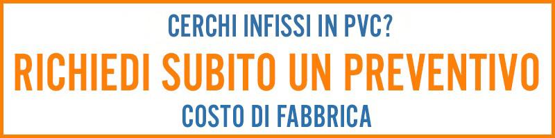 Richiedi preventivi Infissi PVC pronta consegna Roma