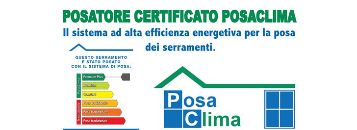 posatore certificato posaclima