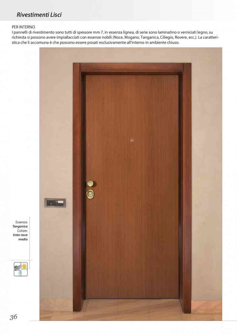 porta blindata 1 anta classe 3