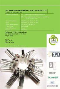 infissi pvc certificati CAM